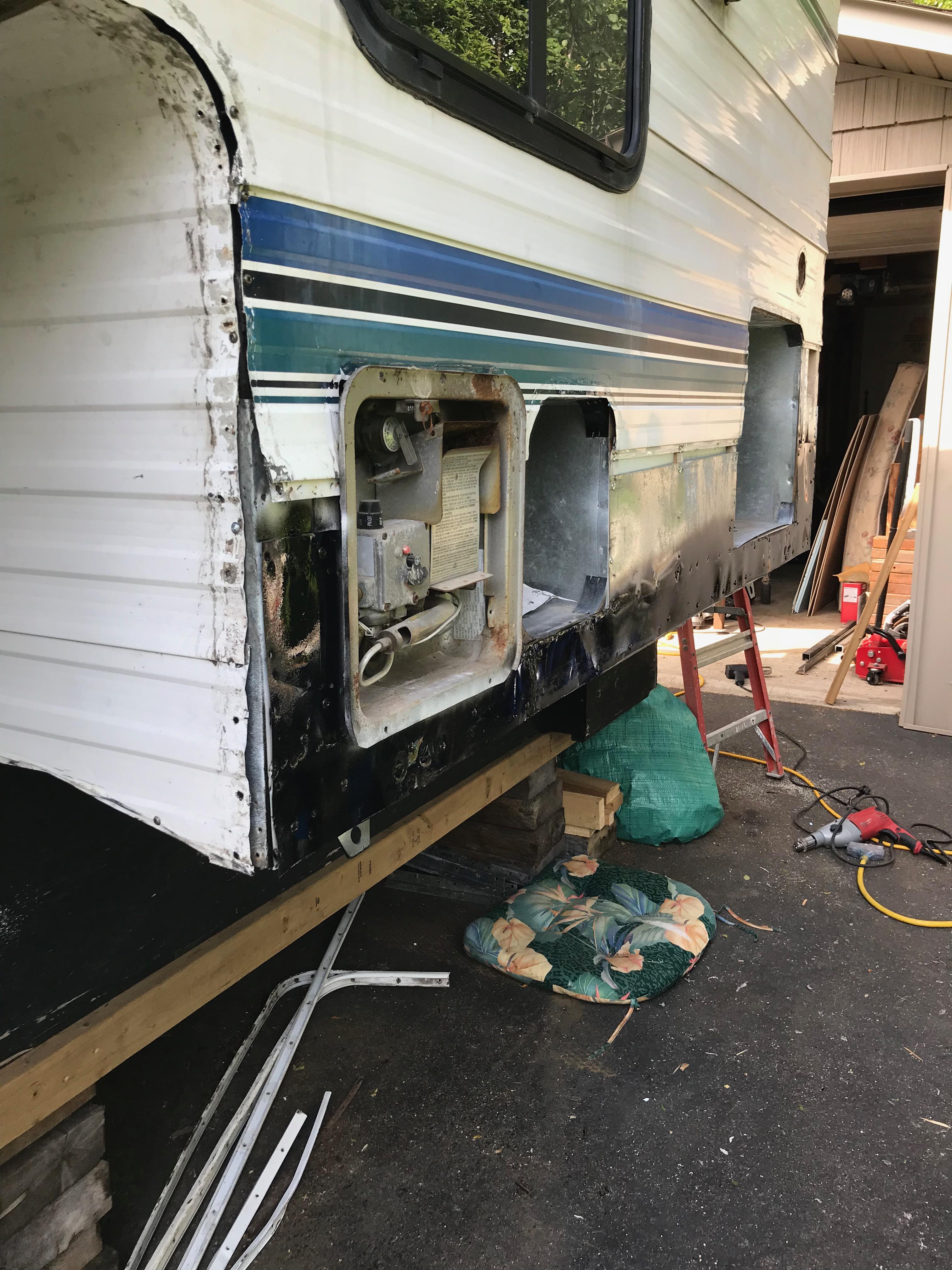 1999 Frontier Truck Camper Rebuild 2018 Brainrattle